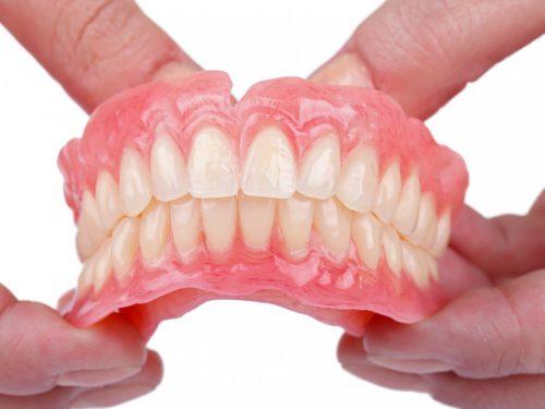 ست کامل دندان مصنوعی غیر ثابت یا متحرک